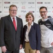 AUSTRIAN KARATE CHAMPIONSCUP 2019 Hard KARATE VORARLBERG Christian Reiter KARATE AUSTRIA Landesrätin Barbara Schöbi-Fink Gerhard Grafoner
