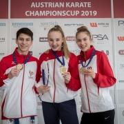 AUSTRIAN KARATE CHAMPIONSCUP 2019 Hard KARATE VORARLBERG Hamsat Israilov Hanna Devigili Stella Kleinekathöfer