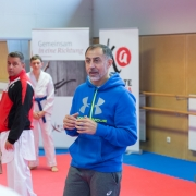 INNOVATION DAYS 2019 KARATE VORARLBERG KARATE AUSTRIA Kumite Juan Luis Benitez Dragan Leiler