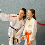 INNOVATION DAYS 2019 KARATE VORARLBERG KARATE HOFSTEIG Kumite Bettina Plank Antonia Veits