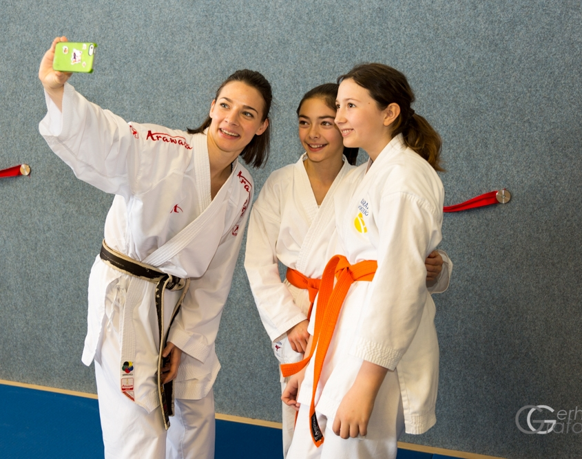 INNOVATION DAYS 2019 KARATE VORARLBERG KARATE HOFSTEIG Kumite Michelle Flecker Bettina Plank Kathalina Grafoner