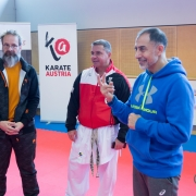 INNOVATION DAYS 2019 KARATE VORARLBERG KARATE AUSTRIA Kumite Günter Bugna Juan Luis Benitez Dragan Leiler
