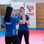 INNOVATION DAYS 2019 KARATE VORARLBERG KARATE AUSTRIA Kumite Ulrike Amann Mandalena Draguljic