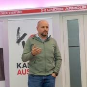 KARATE VORARLBERG Generalversammlung 2019 Olympiazentrum Vorarlberg Helmut Seewald Sebastian Mannhart