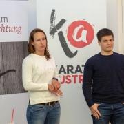 KARATE VORARLBERG Generalversammlung 2019 Olympiazentrum Vorarlberg Projekt Gleichklang Franziska Forte Josip Draguljic