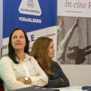 KARATE VORARLBERG Generalversammlung 2019 Olympiazentrum Vorarlberg Bernadette Kleinfercher Julia Gantner