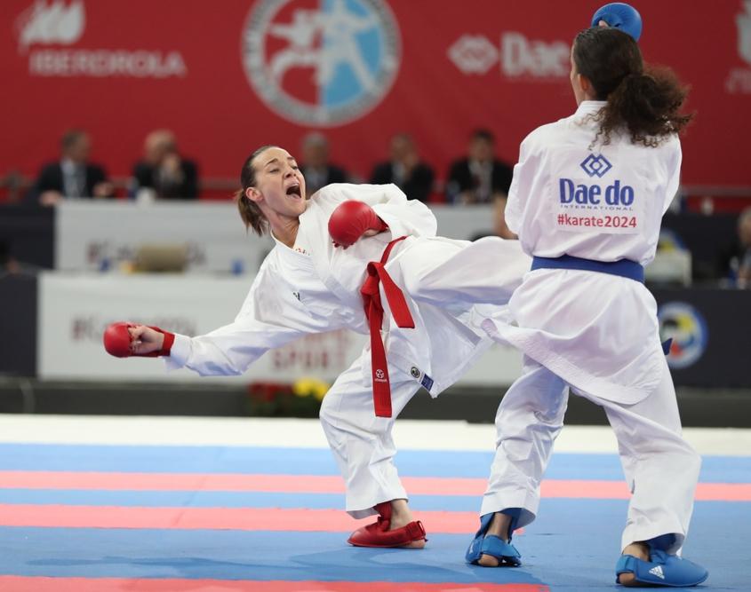 EKF Karate Europameisterschaft 2019 Guadalajara Karate Austria KARATE VORARLBERG Bettina Plank EM Silbermedaille