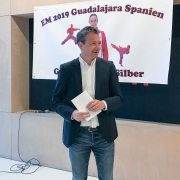 Empfang Bettina Plank EKF Vize Europameisterin 2019 KARATE VORARLBERG KARATE AUSTRIA KC Mäder Michael Zangerl Sportreferat