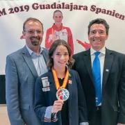 Empfang Bettina Plank EKF Vize Europameisterin 2019 KARATE VORARLBERG KARATE AUSTRIA KC Mäder Rainer Siegele Ewald Roth