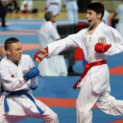 WKF Youth League 2019 Limassol KARATE VORARLBERG KARATE AUSTRIA Hamsat Israilov
