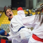 WKF Youth League 2019 Limassol KARATE VORARLBERG KARATE AUSTRIA Stella Kleinekathöfer
