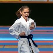 Österreichische Nachwuchsmeisterschaft 2019 Fürstenfeld KARATE VORARLBERG Kathalina Grafoner