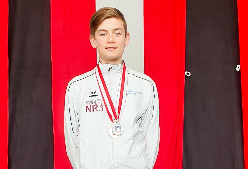Shotokan ÖM 2019 St. Georgen KARATE VORARLBERG Felix Wagner