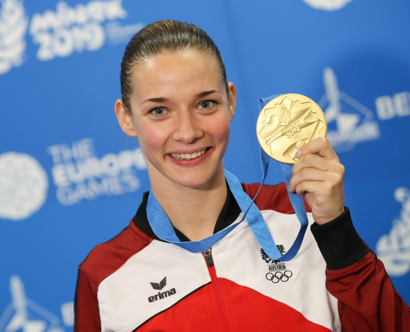 Bettina Plank European Games Gold 2019