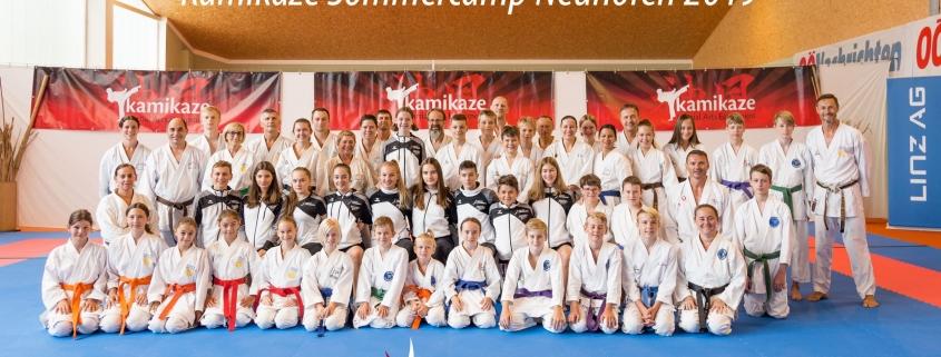 Kamikaze Sommercamp 2019 Neuhofen an der Krems KARATE VORARLBERG