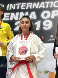 Vienna Open 2019 KARATE VORARLBERG Esra Armut Tugba