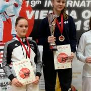 Vienna Open 2019 KARATE VORARLBERG Carmen Platisa