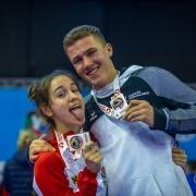 WKF Youth League 2019 Jesolo Italien KARATE VORARLBERG Aleksandra Grujic Adrian Nigsch