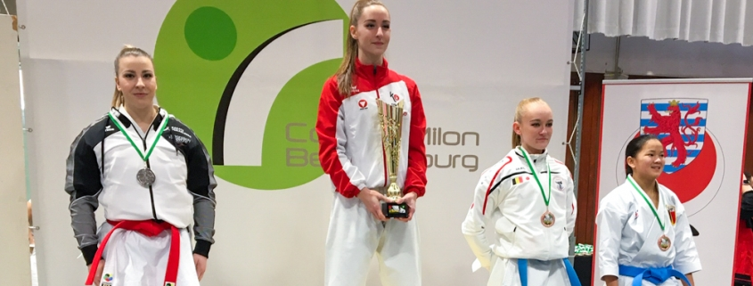 Milon Cup 2020 Bettembourg KARATE VORARLBERG Kata Patricia Bahledova