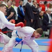 AUSTRIAN KARATE CHAMPIONSCUP 2020 Hard KARATE VORARLBERG Adrian Nigsch Gerhard Grafoner