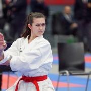 AUSTRIAN KARATE CHAMPIONSCUP 2020 Hard KARATE VORARLBERG Jacqueline Berger