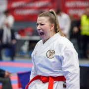 AUSTRIAN KARATE CHAMPIONSCUP 2020 Hard KARATE VORARLBERG Patricia Bahledova