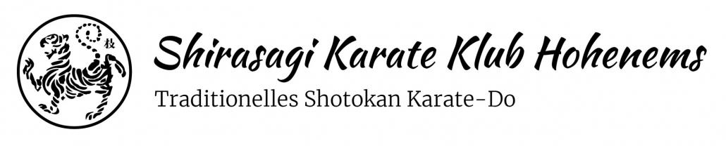 Shirasagi Karate Klub Hohenems Logo
