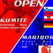 Alps Open 2021 Maribor KARATE VORARLBERG
