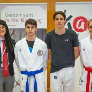 Karate Austria Nationalteam Trainings OZ Vorarlberg KARATE VORARLBERG Dilek Can Hamsat Israilov Yannick Böhler Sara Skrijelj