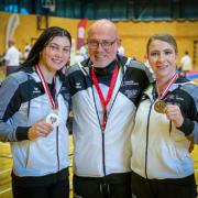 Österreichische Staatsmeisterschaft 2021 Sport Austrian Finals Graz KARATE VORARLBERG Rebecca Gehrer Walter Braitsch Patricia Bahledova