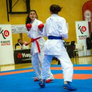 Österreichische Staatsmeisterschaft 2021 Sport Austrian Finals Graz KARATE VORARLBERG Vanessa Giesinger Dilek Can