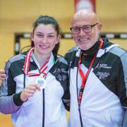 Österreichische Staatsmeisterschaft 2021 Sport Austrian Finals Graz KARATE VORARLBERG Rebecca Gehrer Walter Braitsch