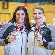 Österreichische Staatsmeisterschaft 2021 Sport Austrian Finals Graz KARATE VORARLBERG Rebecca Gehrer Patricia Bahledova