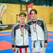 Österreichische Staatsmeisterschaft 2021 Sport Austrian Finals Graz KARATE VORARLBERG Hamsat Israilov Yannick Böhler