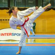 Österreichische Staatsmeisterschaft 2021 Sport Austrian Finals Graz KARATE VORARLBERG Jaqueline Berger