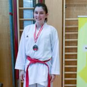 Rebecca Gehrer Austria Junioren Open 2021 KARATE VORARLBERG