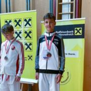 Tobias Fleisch Austria Junioren Open 2021 KARATE VORARLBERG