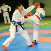 Karate Sommercamp 2021 Tschagguns Kumite on the Rocks KARATE VORARLBERG Yannick Böhler