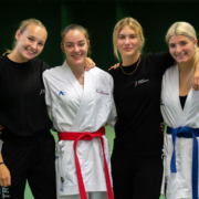 Karate Sommercamp 2021 Tschagguns Kumite on the Rocks KARATE VORARLBERG Hanna Devigili Vanessa Giesinger Stella Kleinekathöfer Kristin Mathis