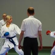 Karate Sommercamp 2021 Tschagguns Kumite on the Rocks KARATE VORARLBERG Kristin Mathis