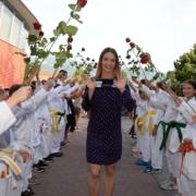 KARATE VORARLBERG Empfang Bettina Plank Olympia 2020 Tokyo Bronzemedaille Kleiner Drache Mäder