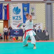 Kranj Open 2021 Slowenien KARATE VORARLBERG Felix Wagner Jacqueline Berger David Nussbaumer Vincent Forster
